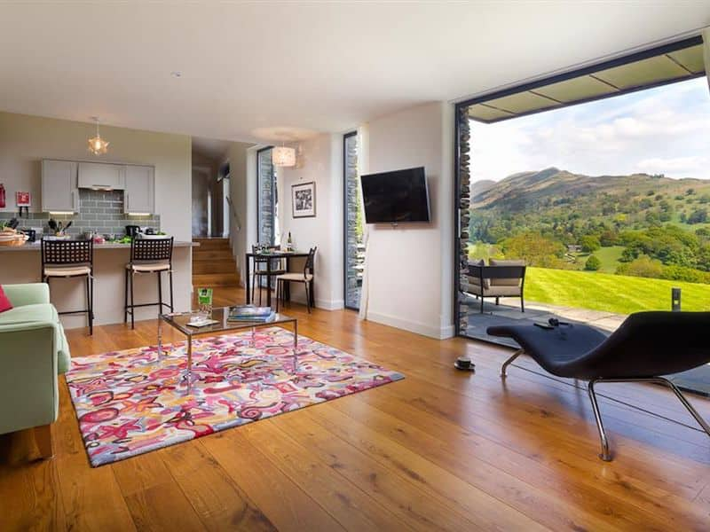 lake district ambleside romantic cottage for couples infinity living room