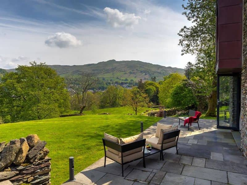 lake district ambleside romantic cottage for couples infinity patio