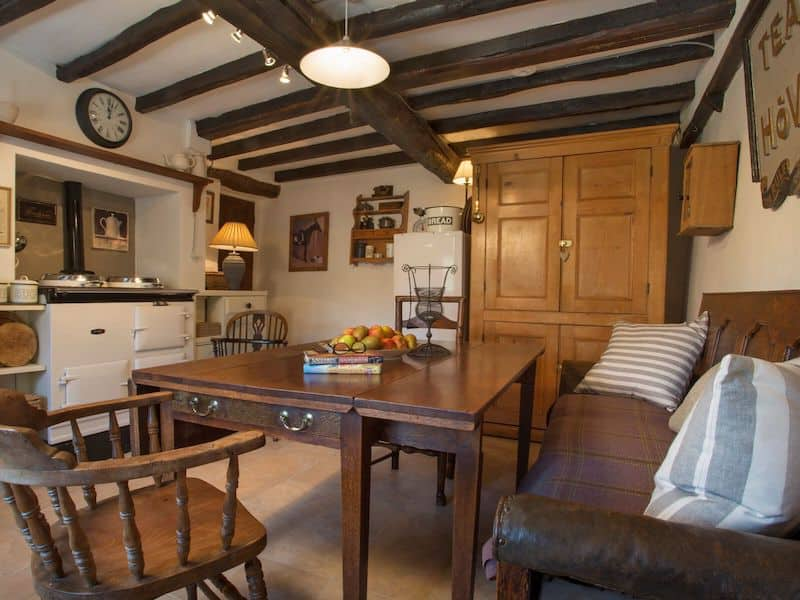 kentmere romantic lake district cottage for couples shepherds nook kitchen dining