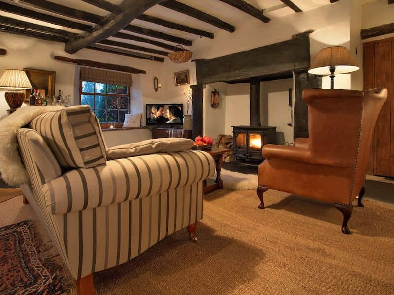 kentmere romantic lake district cottage for couples shepherds nook living room