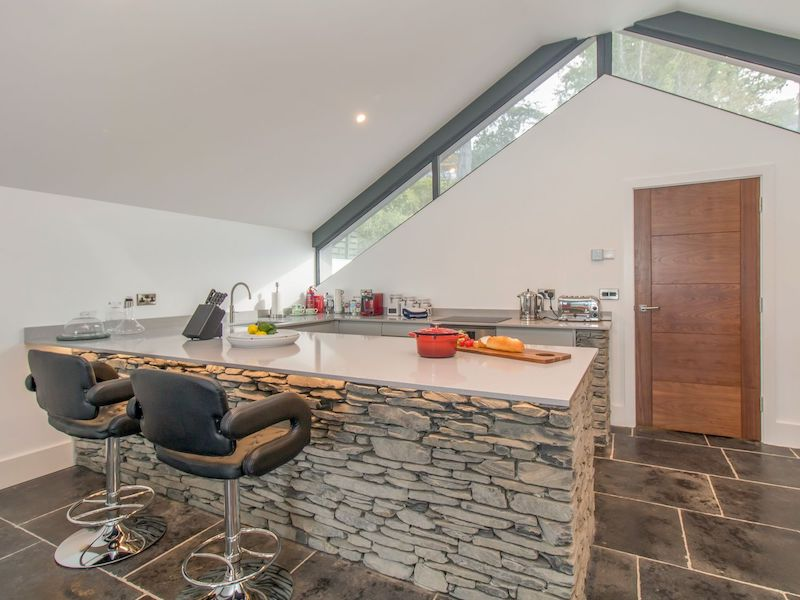 lake district hot tub cottage for couples windermere boat house kitchen